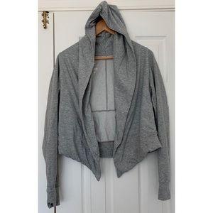 Trendy Nike Hooded Shrug/Sweater